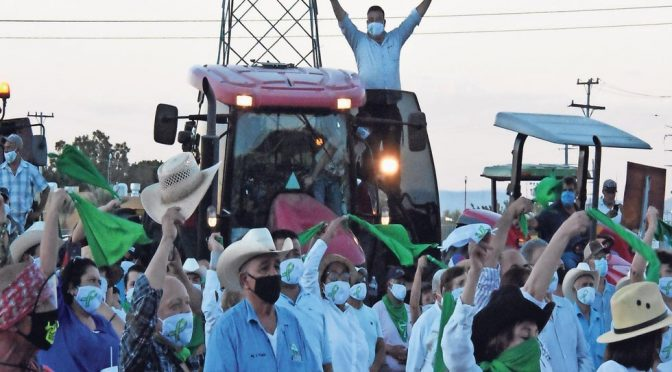 Chihuahua: Exigen garantizar agua para el ciclo agrícola 2021 (El Diario)
