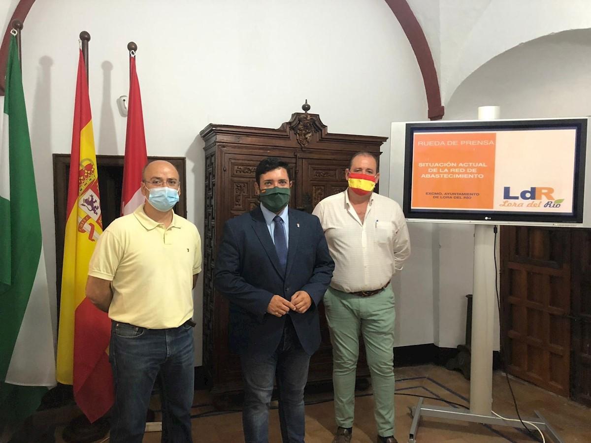 El alcalde de Lora plantea utilizar parte del remanente de tesorería municipal para cambiar tuberías antiguas (Tele Prensa)