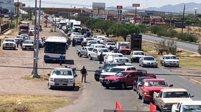 Campesinos protestan en Chihuahua por extracción de agua de presas (Excelsior)