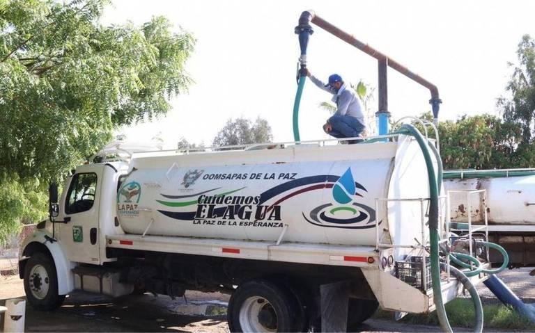 Baja California Sur: Fortalecen programa de distribución de agua en pipas (El Sudcaliforniano)