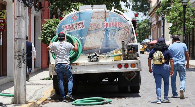 Empresas acaparan agua en Oaxaca (Imparcial)