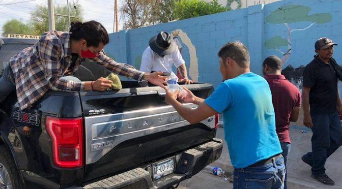Baja California Norte: Brindan agua a grupos vulnerables (La voz de la frontera)
