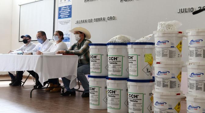 Querétaro: Entregan pastillas para desinfección de agua (Noticias de Querétaro)