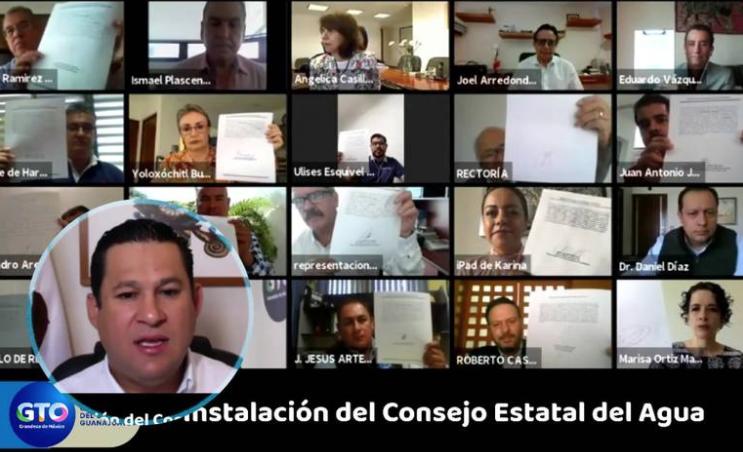 León: Encabeza Gobernador instalación del Consejo Estatal del Agua (El Sol de León)