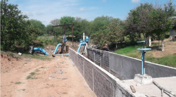 Realizan trabajos para el mejoramiento del tratado de agua en Ébano (El Sol de Tampico)