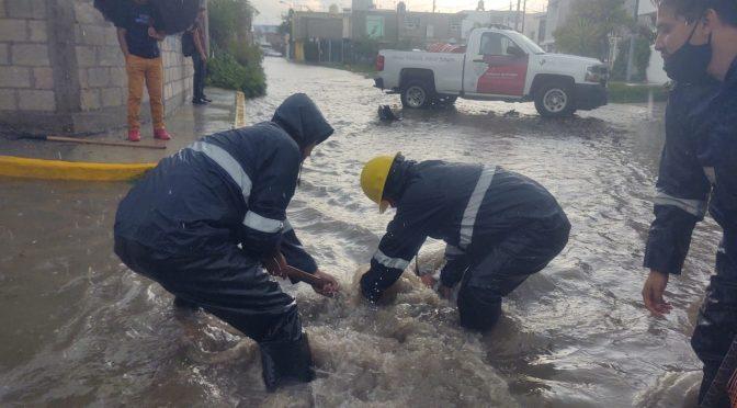 Comisión estatal de agua y saneamiento evita inundaciones (Desde Puebla)