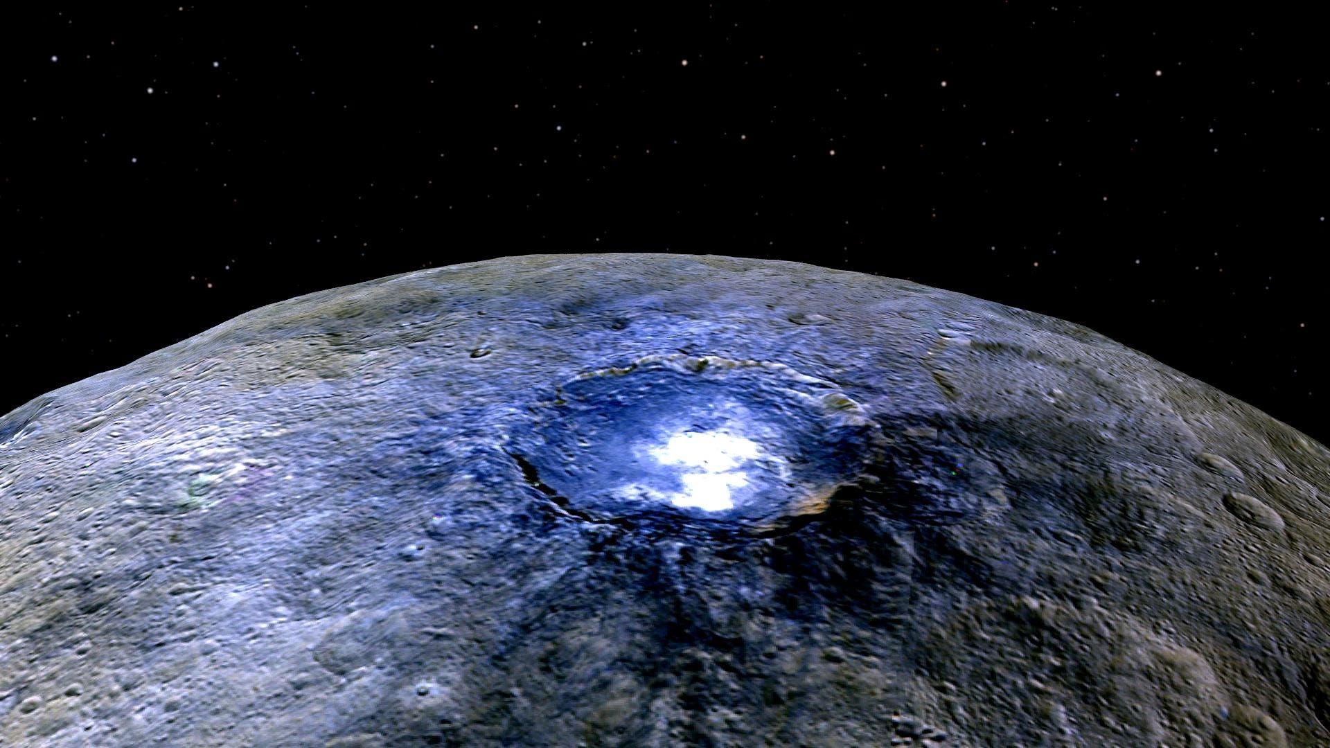 Internacional: Descubren un mar de agua salada en Ceres. (Hipertextual)
