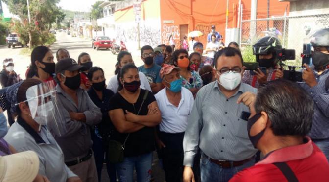 Oaxaca: Colonos de Santa Lucía denuncian desabasto de agua potable. (RIOAXACA)