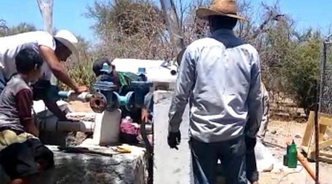 Baja California Sur: Restablecen sumistro de agua en Tembabiche (El Sudcaliforniano)