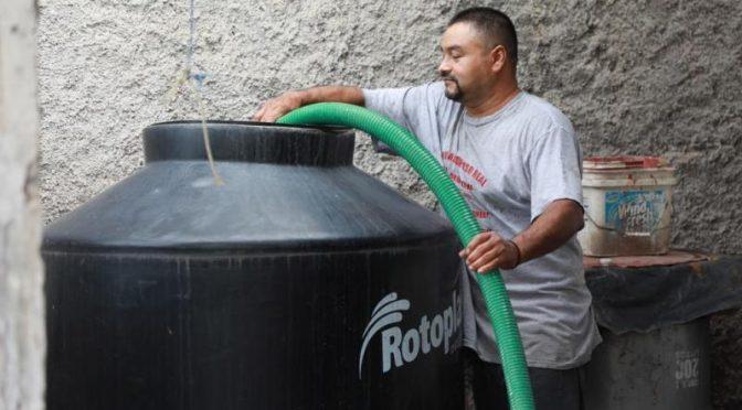 Nayarit: Continúa operativo gratuito emergente con pipas de agua. (Meridiano)