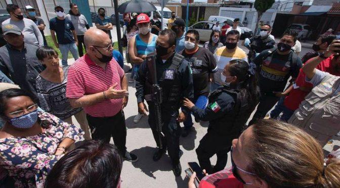 Querétaro: Vecinos de Villas de La Piedad se manifiestan por cortes de agua. (Diario de Querétaro)