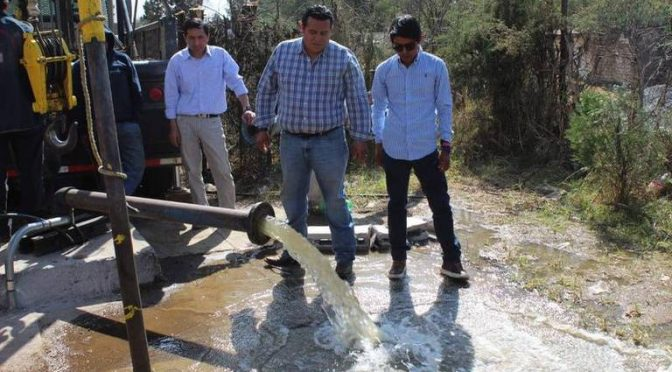 Tlaxcala: Concluyen trámite para pozo de agua, en Tzompantepec. (El Sol de Tlaxcala)