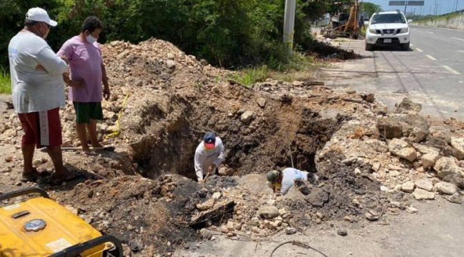 Yucatán: Invierten $32.7 Mlls. en la red de agua. (Diario de Yucatán)