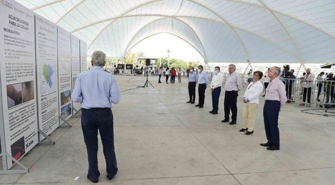 Durango y Coahuila: AMLO anuncia proyecto para solucionar el abasto de agua en La Laguna. (El Economista)