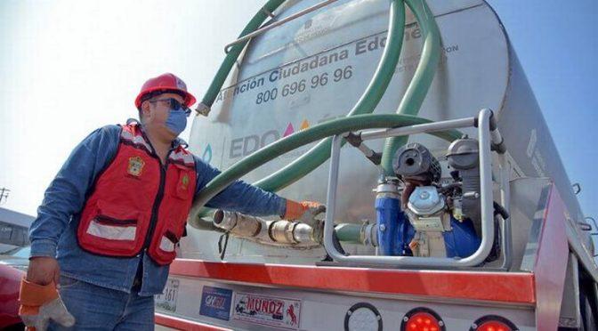 EDO. MÉX: Suministra CAEM 3 millones 849 mil litros de agua en 55 hospitales mexiquenses. (El Sol de Toluca)