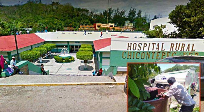 Veracruz: Hospital indígena de Veracruz enfrenta al covid… sin agua (La Silla Rota)