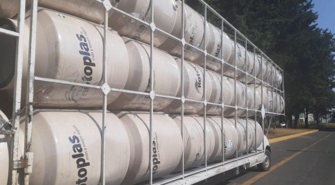 Con más de un millon 400 mil litros de agua disponible, Rotoplas refrenda su compromiso social