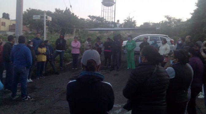 Persiste toma en pozo de agua de Villas de la Loma, Morelia (Quadratin)
