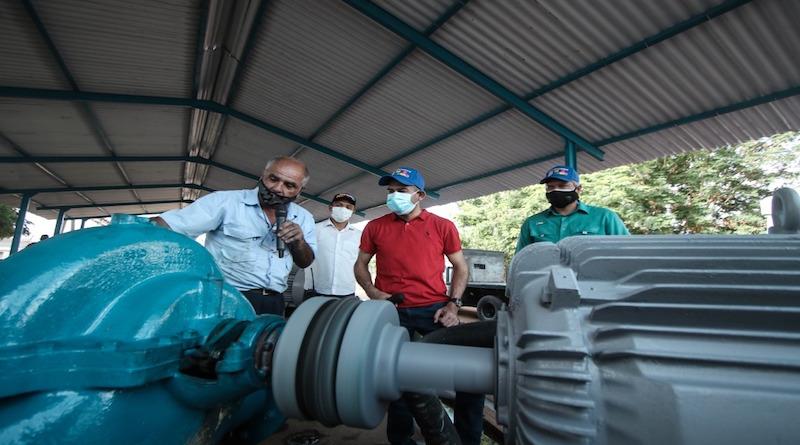 Comenzó a llegar el agua por tubería en las parroquias Cristo de Aranza y Manuel Dagnino de Maracaibo (vtv)