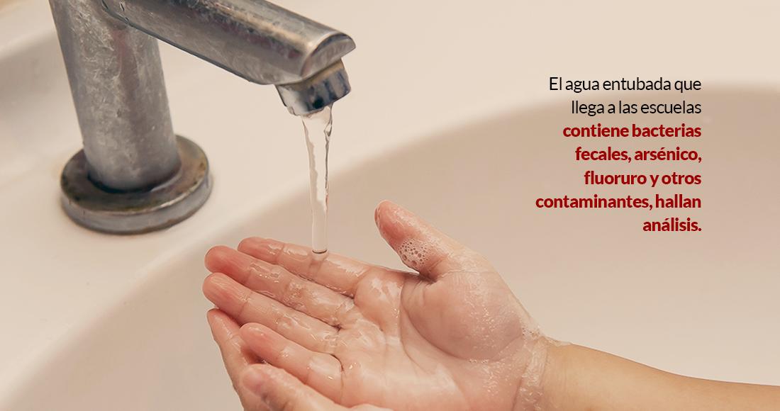 CDMX: El agua entubada en escuelas de 28 estados llega con bacterias fecales, exhiben miles de análisis (Sin Embargo)