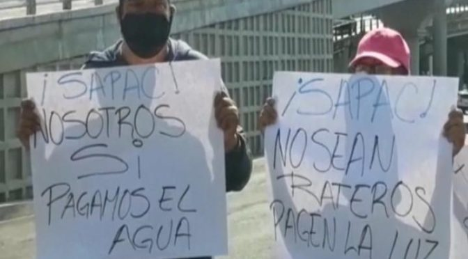 Desabasto de agua en Cuernavaca provoca bloqueos por tercer día consecutivo (Imagen Radio)