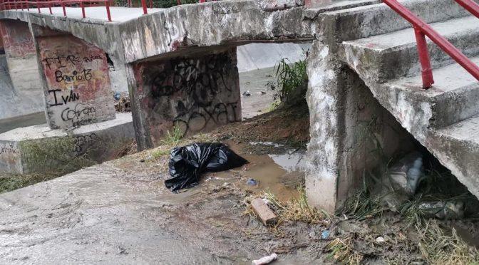 'Hanna' dejó fugas de aguas negras en la colonia Altamira (Tele Diairo)