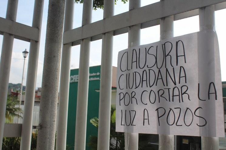 Morelos: Exigen a CFE suministre energía a pozos de agua (La Jornada)
