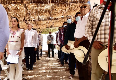 México: Ofrece el Presidente restituir tierras a pueblos yaquis