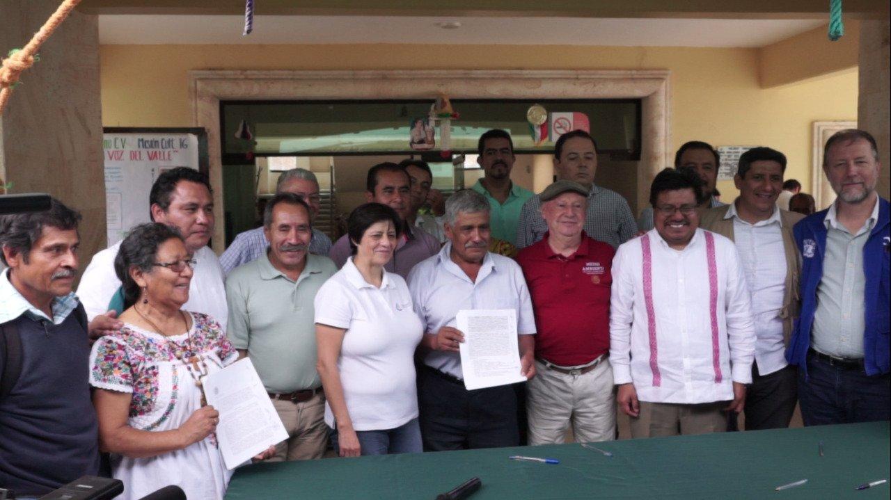Oaxaca: Comunidades zapotecas exigen a la Conagua garantice su derecho al acceso al agua (Somos el medio)