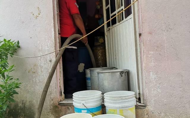 """Tabasco: """"No hay ni para lo indispensable""""; protestan colonos de Gaviotas por falta de agua (El Heraldo de Tabasco)"""