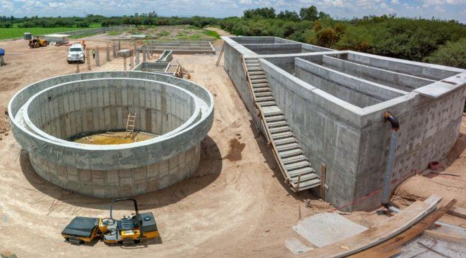 Planta Tratadora 'La Huaracha' en León, registra avance del 74% (Milenio)