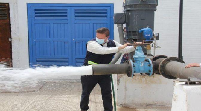 Incorporará JMAS pozo Molino de Agua a la red hidráulica de la ciudad (Tiempo)