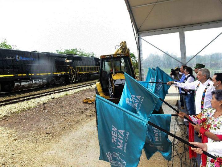 CDMX: ¿Para qué el Tren Maya, si no tenemos agua?, cuestionan indígenas (Dinero en Imagen)