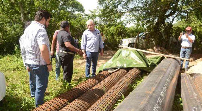 Se cumple a familias con agua potable (Diario de Chiapas)