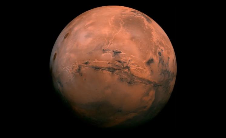 Detectan lagos de agua salada bajo el polo sur de Marte (El Universal)