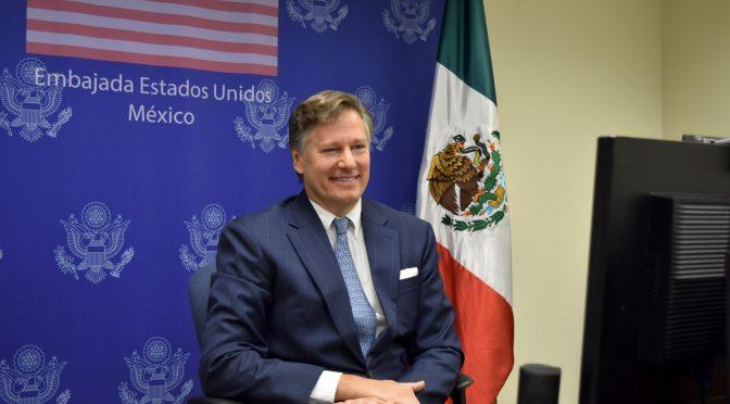 México debe cumplir con el tratado de aguas, afirma el embajador de EU (La Jornada)