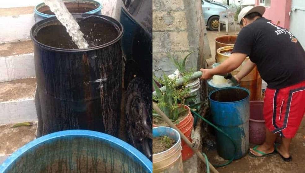 Hasta el viernes se restablecerá servicio de agua en Coatzacoalcos (La Silla rota)