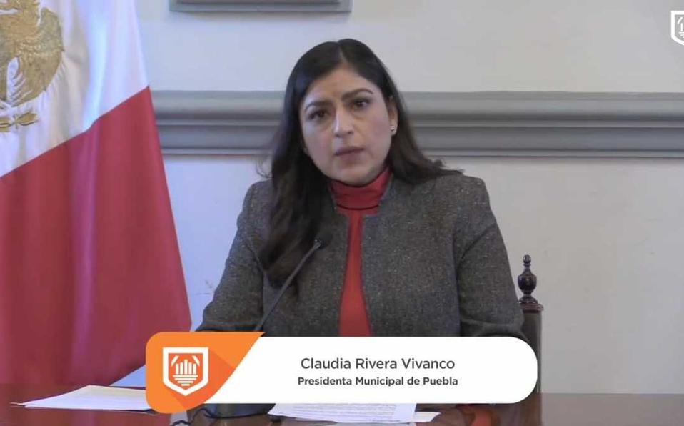 Claudia Rivera convoca a diputados a cumplir con desprivatización del agua (Milenio)