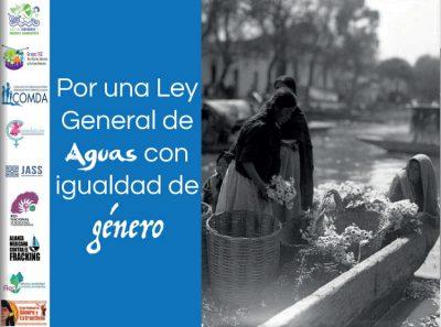 Por una nueva ley de aguas con igualdad de género (Educa Oaxaca)