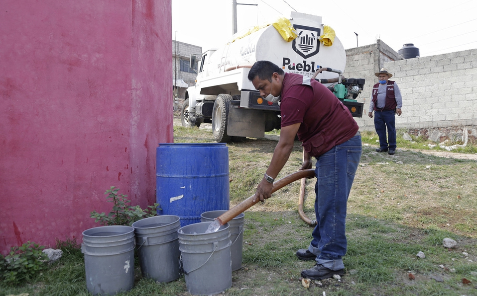 Ayuntamiento distribuyó agua potable con pipas en 70 localidades (Milenio)