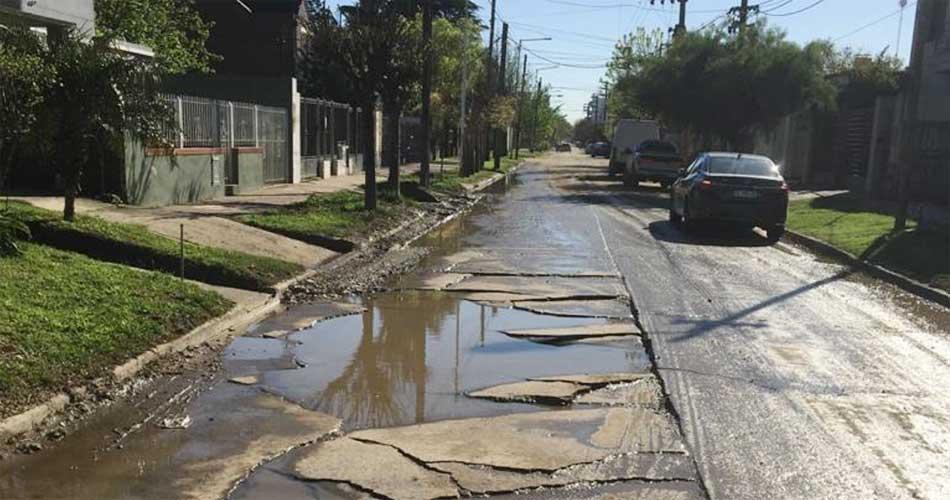 Calles urbanas: piden un plan integral de reparación del hormigón (Infocanuelas)