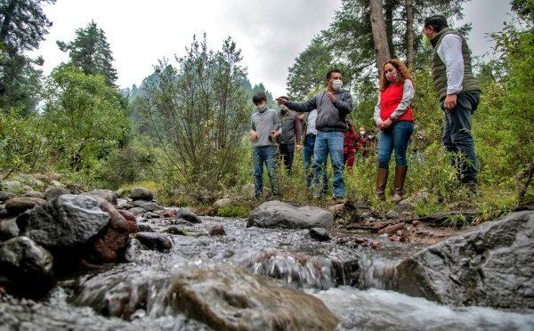 CAEM da inicio a proyecto de conservación de agua y suelo en la región de los Volcane (Asi Sucede)