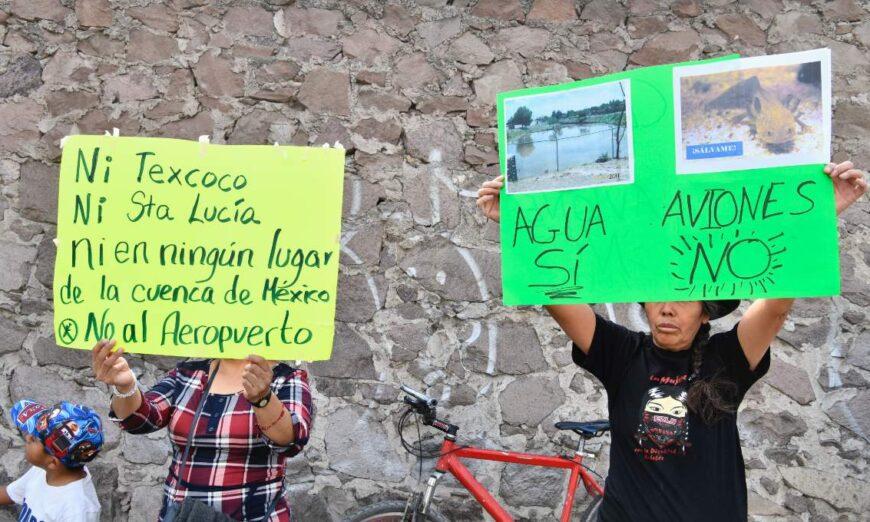 Sedena busca pozos en Edomex para extraer 12 millones de litros de agua para Santa Lucía (Proceso)