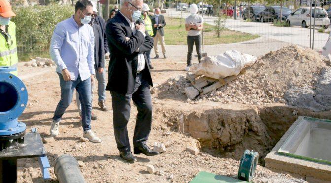 El nuevo pozo de riego de la Fonteta (El Periodico)