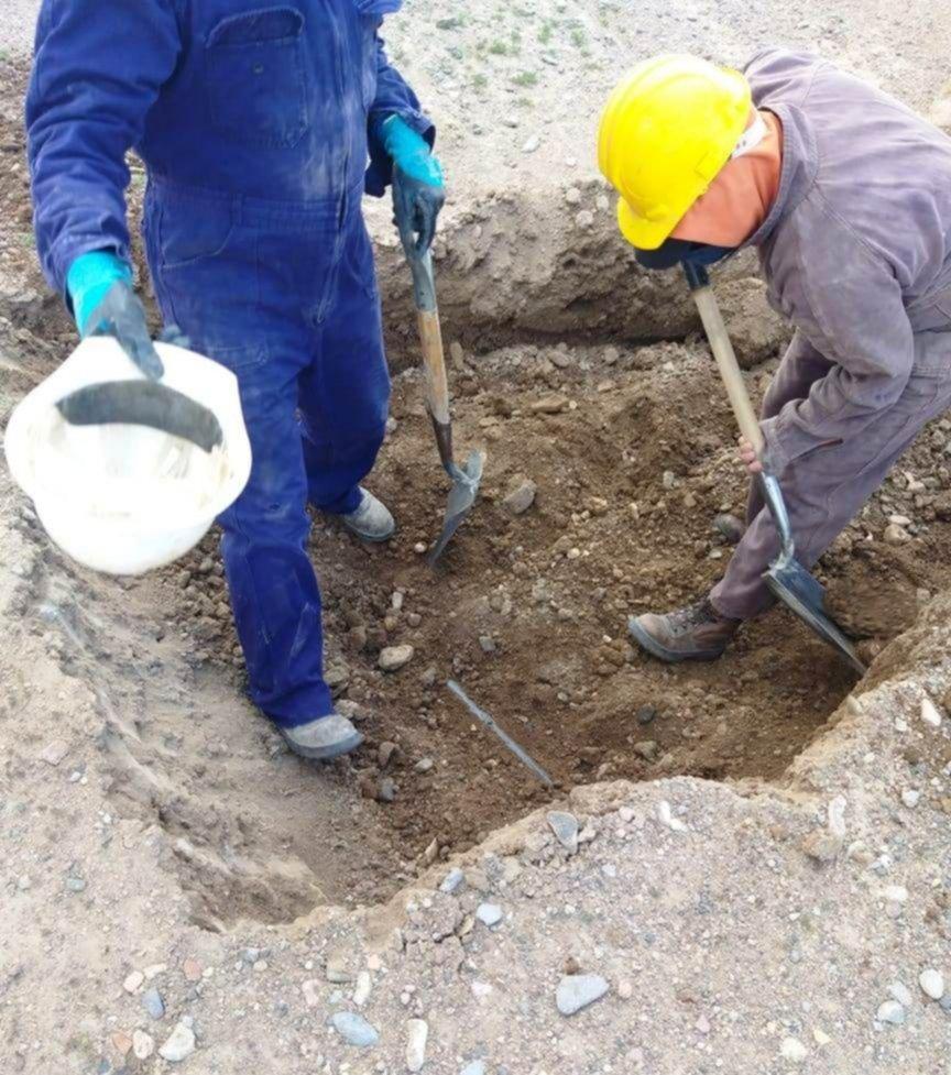 Extienden la red agua en Gan Gan (El chubut)