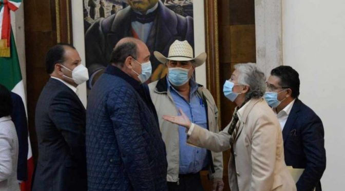 Se reúnen con Olga Sánchez Cordero para destrabar conflicto de agua en Chihuahua (Excelsior)