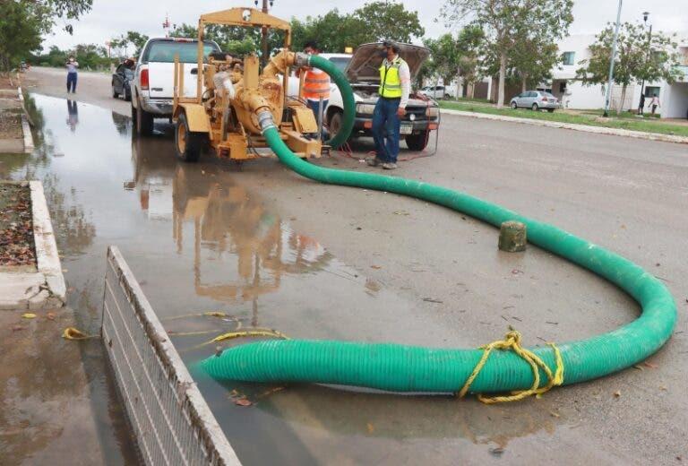 Yucatán: Sube el nivel del agua otra vez (Diario de Yucatán)
