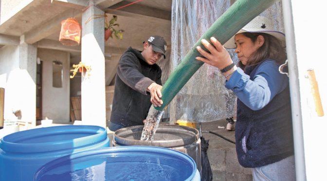 CDMX: Corte de agua afectará a 100 mil habitantes en Neza (El Universal)
