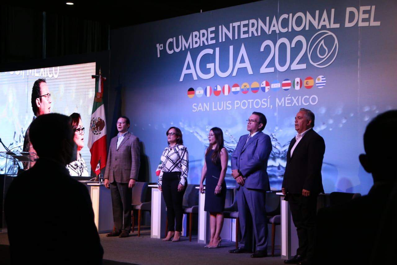 Arranca Cumbre Internacional del Agua 2020 (El Expres)