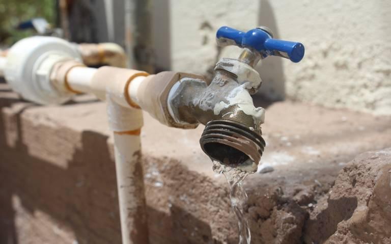 El tema del agua del tratado. Ni con mucho está resuelto